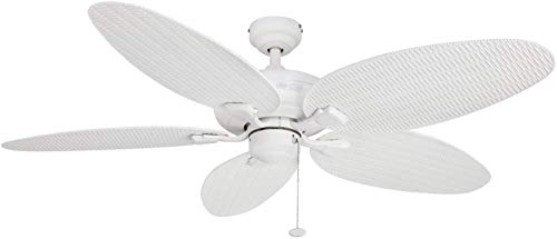 Honeywell Duvall 52-Inch Tropical Ceiling Fan, Five Wet...