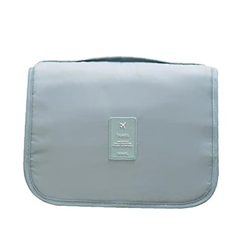 Naisedier Nueva portátil Lazy cosmético del Bolso de Gran Capacidad de Almacenamiento de Bolsa de Viaje Bolso de la Colada de la Mujer - Light Blue clásica de la Alta Capacidad