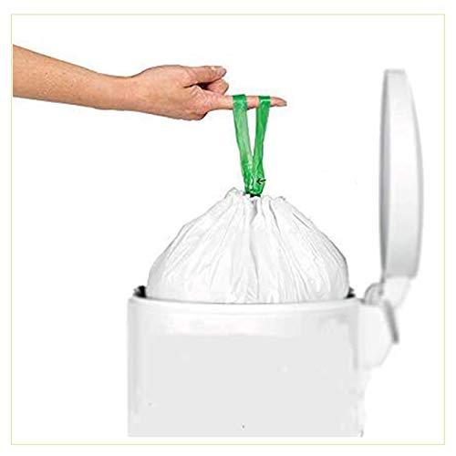 Virsus 10 Rotoli da 10 Sacchetti per Raccolta Umido con Manico prendifacile 100 Sacchi Organico 35 Litri compostabili e biodegradabili f.to 50x60 Manico compreso