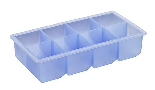 Lurch 10466 Eiswürfelbereiter Würfel für 8 Eiswürfel (5 x 5 cm) aus 100% BPA-freiem Platin Silikon