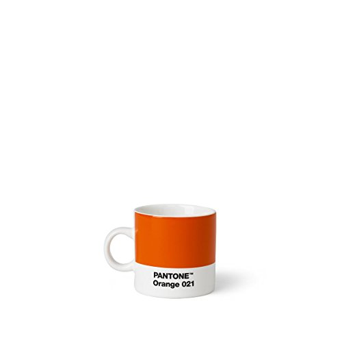 Copenhagen design Pantone Espresso, Small Coffee Cup, Fine China (Cera