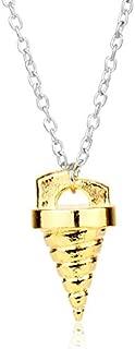Men's necklace Japan Anime Tengentoba Kinon Tengen Toppa Gurren Lagann Core Drill Pendant Necklace Simon Cosplay Gift