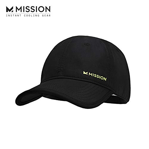 MISSION Cooling Performance Hat- Unisex Baseball Cap, UPF 50, Cools When Wet