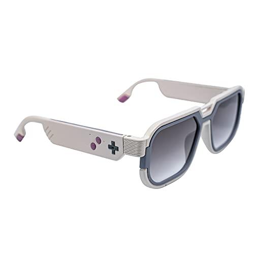 Docooler Gafas de Sol Inteligentes Inalámbrica BT5.0 Gafas de Música Gafas para Juegos Manos Libres Impermeable Soporte para Conectar Teléfonos Móviles y Tabletas