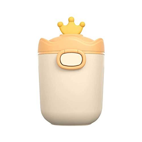 YQZ Erogatore Portatile di Latte in Polvere, Contenitore per Snack per Bambini, Dispenser per Latte Artificiale a Doppia Guarnizione per Camera da Letto da Viaggio all'aperto,D