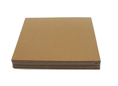 Brown Chipboard 100 Point Extra Thick 12 x 12 Inches.100 Caliper Heavy Cardboard 2.54 mm Thick
