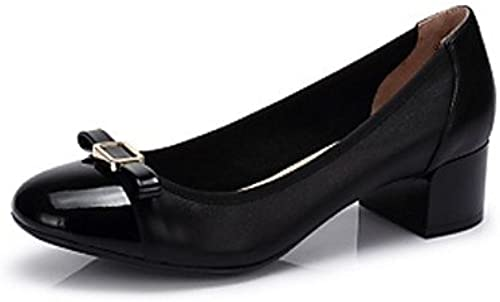 Les talons de femmes Camel cuir Talon Slingback occasionnels chaussures de marche en couleurnoir  Almond
