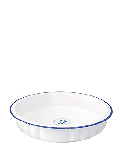 GreenGate Pie Form Creme Blue One Size