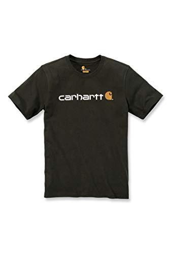 pull de travail pour homme Carhartt Sweat-shirt Midweight Quarter avec fermeture /éclair au niveau du col