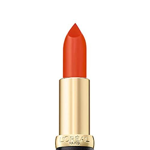 L'Oréal Paris Color Riche Matte 227 Orange Pigalle, matter Lippenstift mit pflegenden Ölen, cremige Textur für maximalen Lippenkomfort