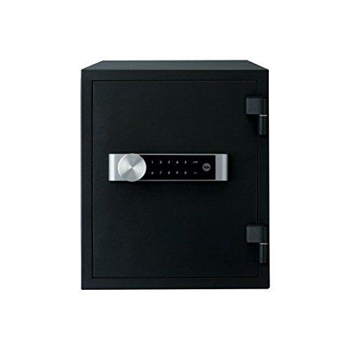 Yale 1 Caja Fuerte Ignífuga, 420 x 352 x 433 mm, Negro, Mediana 352 x 420 x 433 mm