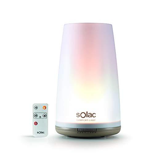 Solac HU1065 Comfort-Lamp Humidificador Ultrasónico y Lámpara, Multicolor