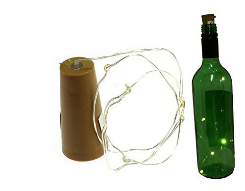 benerini 0.45 M Caldo Bianco LED Tappo Tappo Bottiglia di Vino Luci con Filo di Colore del Nastro