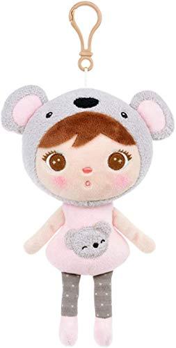 ADIE Plüschtier ToysPlush Toy Mini Anhänger Cartoon Soft Toy Weihnachten Geburtstagsgeschenk, Größe: 16 cm, Farbe: Rot (Farbe: Silber, Größe: 16 cm) (Color : Silver, Size : 16 cm)