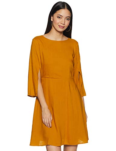 AND Women's Rayon Mini A-Line Dress