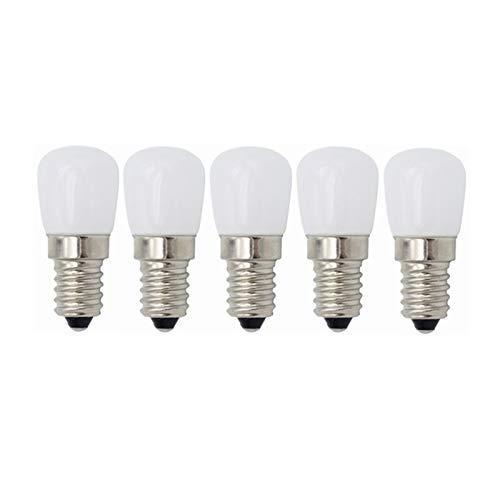 Bombilla LED Bombillas for electrodomésticos de tornillo Edison pequeñas LED E14, 3W (equivalentes a 20W), for refrigerador frigorífico, máquina de coser, campana de cocina con iluminación de 220V [Cl