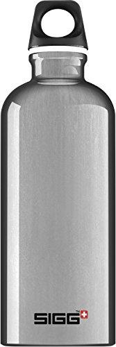 Sigg Trinkflasche Traveller, Silver, 0.6 l