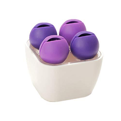 HEELPPO Rangement Maquillage Pot A Pinceau De Maquillage Rangement Pinceaux Maquillage Rangement Maquillage Pinceaux Boite A Maquillage Boite De Maquillage Boite Maquillage Purple