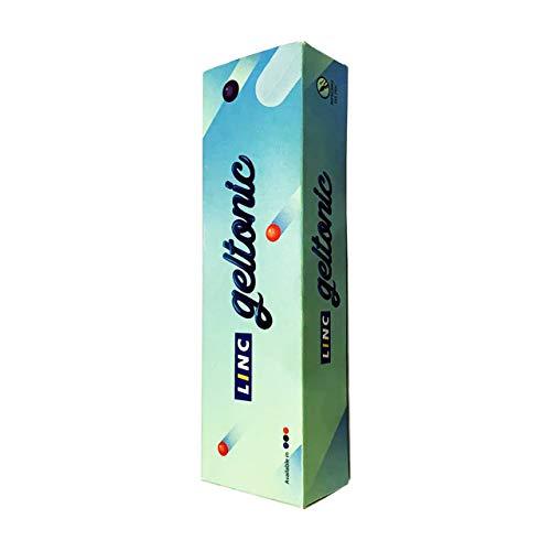 Linc Geltonic Gel Pen (Pack of 10, Blue Ink)