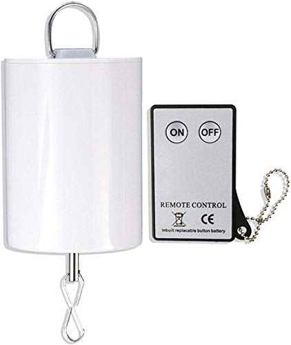 FONMY Hanging Display Motor 10 RPM Low Speed with Remote for Wind Spinner Ornament Hanging Decor Baby Crib Mobile Battery Operated Motor