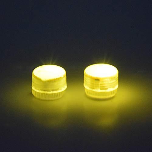 Hunpta @ 2 Stück Universelles Nachtfluglicht für Drohnen mit Akku für DJI Mavic Mini 2/ für Mavic Mini 2/ für Mavic Pro/für Spark, Nachtlicht mit Straps Drohne Erweiterung Schutz Zubehör