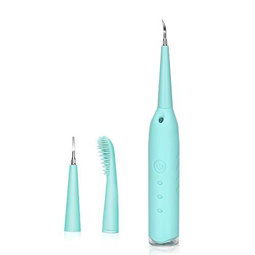 YOUYO Removedor Eléctrico de Cálculo Dental Removedor Eléctrico de Placa Limpiador Dental...