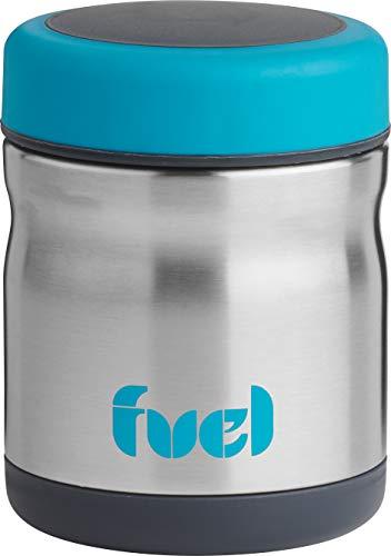 Fuel - Termo para comida hermético, que mantiene la temperatura hasta 6 horas. Capacidad 445ml. Ideal para transportar papilla de bebé. Libre de BPA (BPA-free). Medidas exteriores: 9.5 x 9.5 x 12.5cm