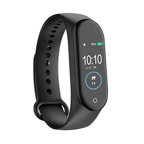 Gazechimp Pedometro da Polso Smart Watch Contapassi Orologio Sportivo per Sport - Nero
