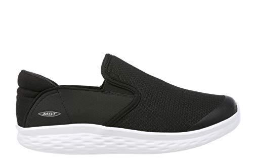 MBT Rocker Bottom Shoes Women's – Slip On Walking Shoe Modena - Black/White