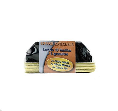 Norton Sanding Block 'Einfaches Schleifen' + 15 Pads + 5 Kostenlos