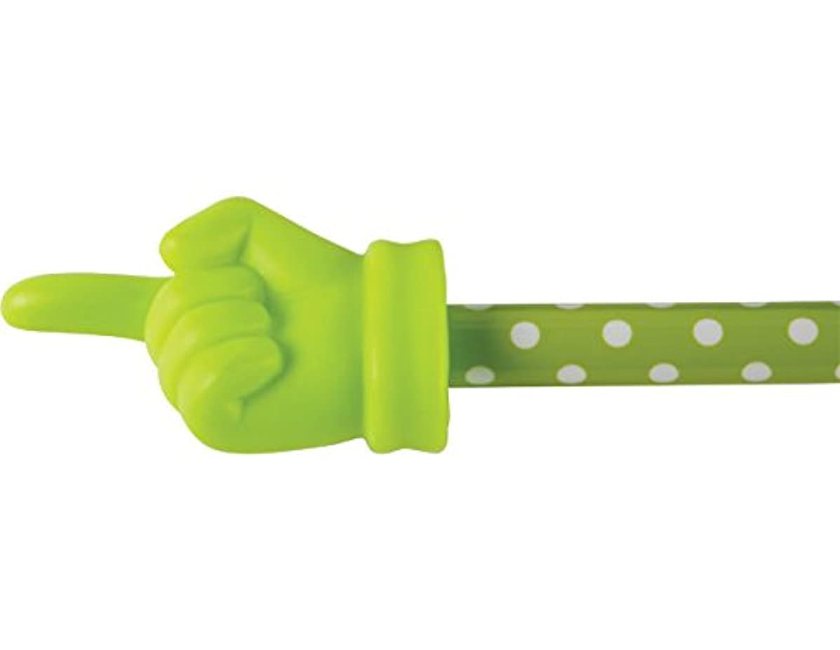 Teacher Created Resources Lime Polka Dots Hand Pointer (20679)