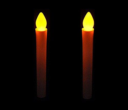 Mercury 電池 式 LED ろうそく (2本セット) 火 使わない 安全 火気 厳禁 の 部屋 でのご使用に最適 蝋燭 ローソク お彼岸 お盆 安心 安全