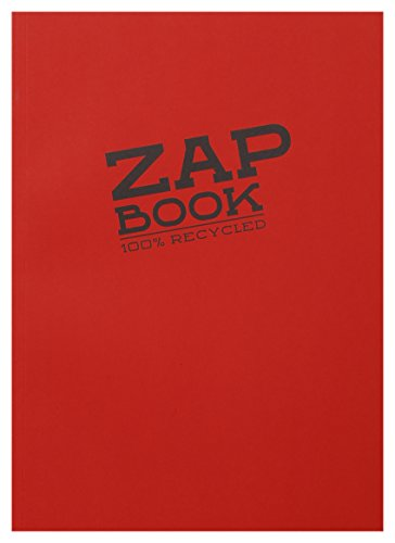 Clairefontaine 3354C - Zap book con esbozo liso, A4, colores surtidos