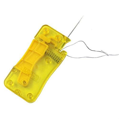 Enhebrador automático de agujas, fácil dispositivo, accesorios de costura para bricolaje, ajuste,...