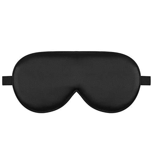 CLJ yangshil Alaska Bear Natural Silk Sleep Mask, Blindfold, Super Smooth Eye Mask (One Strap)