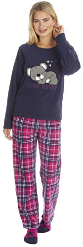 KATE MORGAN - Pijama - para Mujer Azul Koala con Calcetines