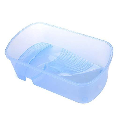 lossomly Accessori per Rettili E Anfibi Terrari Serbatoio in Plastica Trasparente Insetti Sanitaria per Rettili Anfibi - Blu