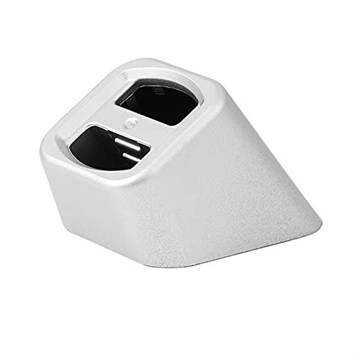 Pedestal de la base del teléfono móvil en el cargador inalámbrico de cargador de coche universal Titular del teléfono Soporte para teléfonos inteligentes Soporte fijo ( Color : White , Size : 02 )
