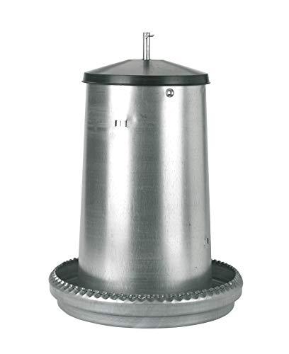Kerbl 71102 Futterautomat für Küken / Junggeflügel verzinkt, 18 kg