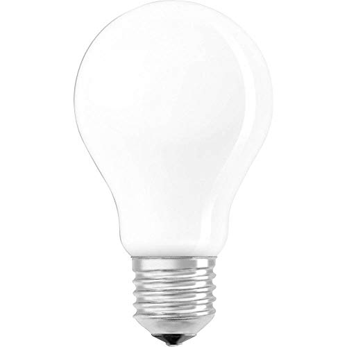 Osram Ampoule LED à Filament Dépolie | Culot E27 | Forme Standard | Blanc Froid 4000K | 8W (équivalent 75W)