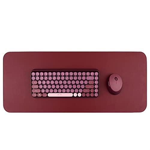 LinXIPU Kit de Teclado y Mouse El Conjunto de Teclado y Mouse inalámbrico 2. 4G es Adecuado para computadora portátil Ordenador Personal Jugadores Teclado inalambrico (Color : Black with Mouse)