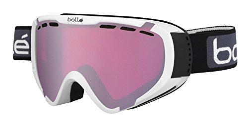 bollé Explorer OTG - Gafas de esquí, Color Blanco Brillante