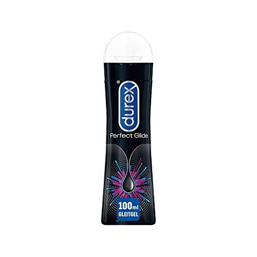 Durex Perfect Glide Gleitgel - Silikonbasierendes Gel, langanhaltend - Ideal für Analsex - 1 x 100 ml