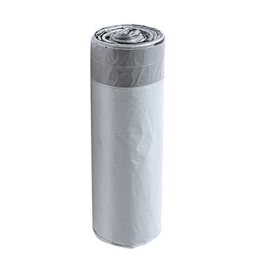 Weilifang De Mano 15pcs / Rollo de Lazo la Basura la Bolsas de Basura Desechables de plástico de Cocina Papelera Bolsa de Mano Bolsa de Basura