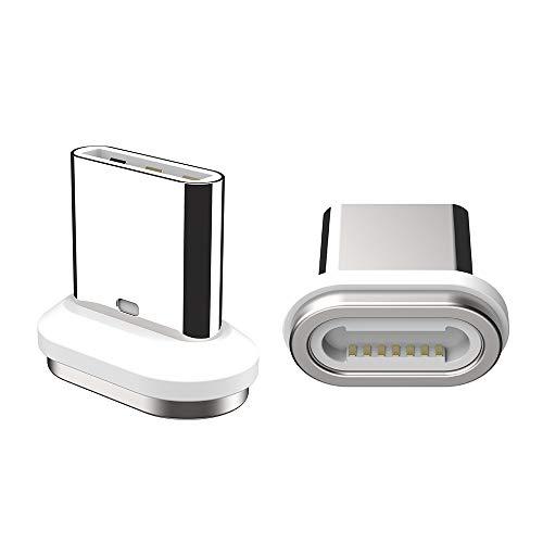 5A Cabo magnético USB C SIKAI 5A Cabo de carregamento USB Tipo C Carregador rápido para Huawei Mate 20 Pro Mate 20 X Mate 10 9 Pro Porsche P20 Lite P10 (pacote com 2)