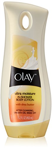 Olay Body Ultra Moisture In-Shower Body Lotion with Shea Butter 15.2 oz.