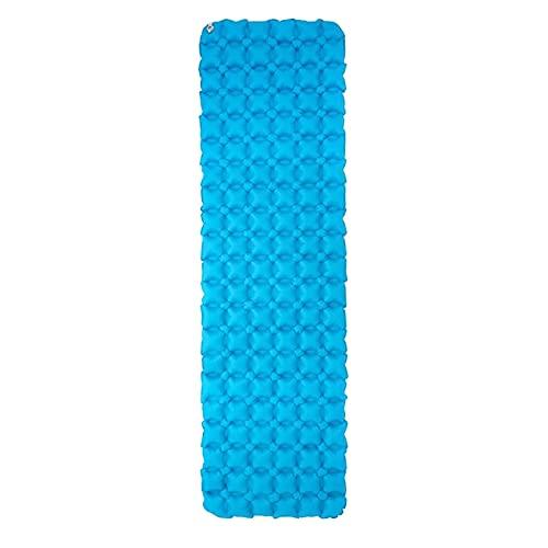 enioysun Esterillas Auto inflables Colchón de Camping Inflable a Prueba de Humedad al Aire Libre Adecuado para Senderismo, portátil y cómoda, Picnic, Estera para Dormir (Color : Blue)