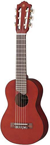 Yamaha GL1 PB Guitalele - Guitarra tamaño Ukelele con funda, color marrón