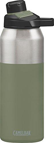 Camelbak Trinkflasche CHUTE Mag Vakuum Edelstahl isoliertechnologie Wasser Flasche, grün (Olive), 32oz