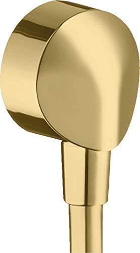 hansgrohe 27454990 FixFit E sin válvula antirretorno, color dorado pulido
